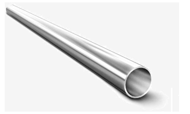 труба круглая тонкостенная